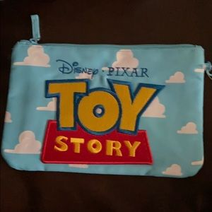 NWT toy story cosmetic zip bag